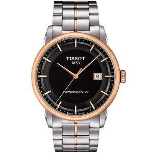 Đồng hồ Tissot Men's T0864072205100 Luxury Analog Display Swiss Automatic Two Tone Watch