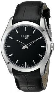 Đồng hồ Tissot Men's T0354461605100 Couturier Analog Display Swiss Quartz Black Watch