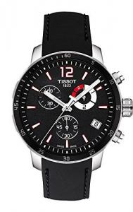 Đồng hồ Tissot Quickster Soccer World Cup Black Dial Black Silicone Mens Watch T0954491705700