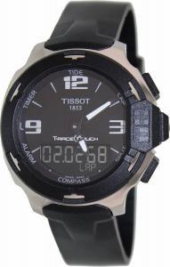 Đồng hồ Tissot T-Race Analog Digital Black Rubber Mens Watch T0814201705701