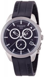 Đồng hồ Tissot Men's T0694174705100 Quartz Titanium Black Dial Chronograph Watch