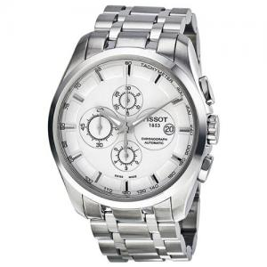 Đồng hồ Tissot Men's T0356271103100 Couturier Analog Display Swiss Automatic Silver Watch