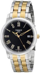 Đồng hồ Tissot Men's T0334102205301 Classic Dream Analog Display Swiss Quartz Two Tone Watch