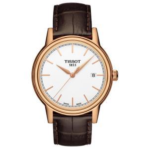 Đồng hồ Tissot Men's T0854103601100 Carson Analog Display Swiss Quartz Brown Watch