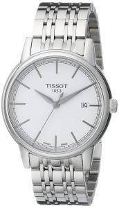 Đồng hồ Tissot Men's T0854101101100 Carson Analog Display Swiss Automatic Silver Watch