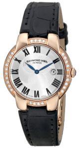 Đồng hồ Raymond Weil Women's 5229-PCS-01659 Jasmine Analog Display Swiss Automatic Black Watch