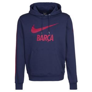 Áo thu đông 2014-2015 Barcelona Nike Core Hooded Top (Navy)