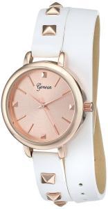 Đồng hồ Geneva Women's 2401F-GEN Analog Display Quartz White Watch