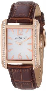 Đồng hồ Lucien Piccard Women's 11593-RG-02M/BRW Coca White Mother-Of-Pearl Dial Watch