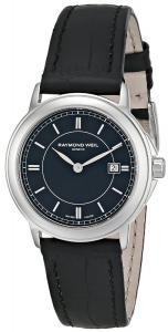Đồng hồ Raymond Weil Women's 59661-STC-20001 Maestro Analog Display Swiss Quartz Black Watch