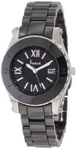 Đồng hồ Freelook Women's HA5114-1 All Black Ceramic Black Dial Watch