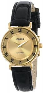 Đồng hồ Jowissa Women's J2.107.S Roma Gold Stainless-Steel Patent Leather Watch