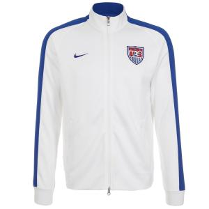 Áo khoác Nike N98 USA Authentic Men Track Jacket White/Game Royal 589862-100