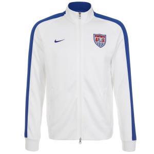 Áo khoác Nike N98 USA Authentic Men Track Jacket White/Game Royal 589862-100