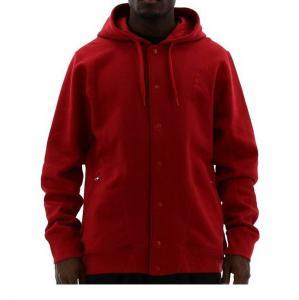 Áo khoác Jordan Nike Mens Basketball Jumpman Varsity 2.0 Fleece Button Hoodie Jacket