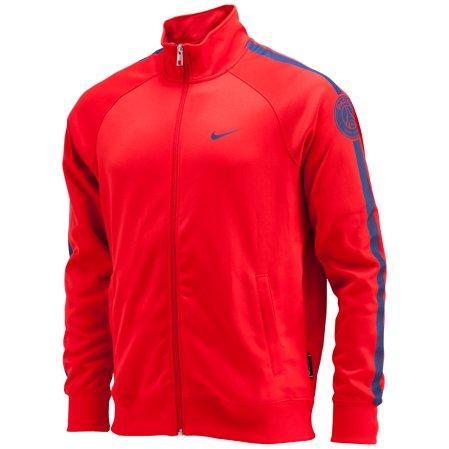 Áo khoác 2014-2015 PSG Nike Core Trainer Jacket (Red)