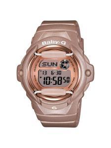 Đồng hồ Casio Women's BG169G-4 Baby G Pink Champaign Watch