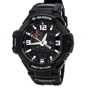 Đồng hồ G-Shock GA-1000-1A Aviation Series Men's Luxury Watch - Black / One Size