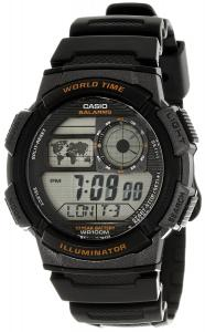 Đồng hồ Casio Men's AE-1000W-1AVDF Stainless Steel Sport Watch with Black Band