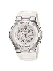 Đồng hồ Casio Women's BGA110-7B Baby-G Shock Resistant White Analog Sport Watch