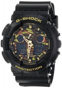 Đồng hồ G-SHOCK Men's GA100 Camouflage Dial Watch