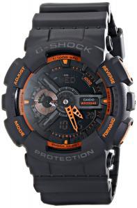 Đồng hồ Casio Men's GA-110TS-1A4 G-Shock Analog-Digital Display Quartz Grey Watch