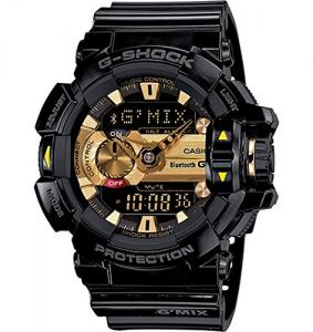 Đồng hồ G-Shock GBA400-1A9 Classic Series Stylish Watch - Black/Gold / One Size