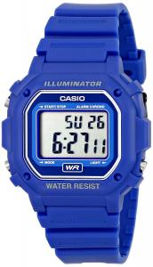 Đồng hồ Casio F108WH Water Resistant Digital Blue Resin Strap Watch