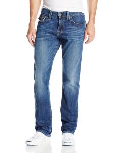 True Religion Men's Ricky Relaxed Straight-Fit Jean