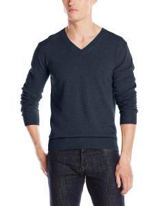 Christopher Fischer Men's Cashmere Basic V-Neck Sweater