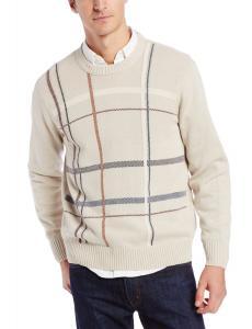 Dockers Men's Birdseye Graphic Crewneck Sweater