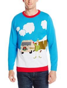 Alex Stevens Men's Motor Home Holiday Ugly Christmas Sweater