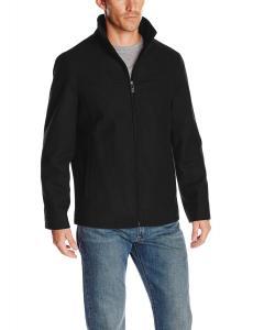 Perry Ellis Men's Melton Wool Jacket