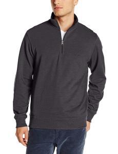 Dockers Men's Long Sleeve Quarter Zip Fleece