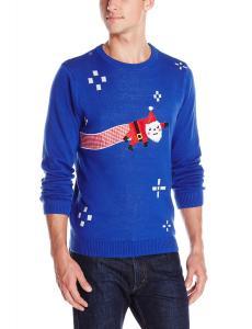 Alex Stevens Men's Internet Santa Ugly Christmas Sweater