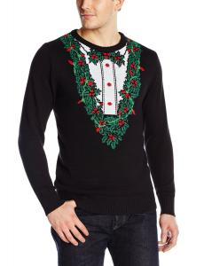 Hybrid Men's Christmas Suit Ugly Sweater