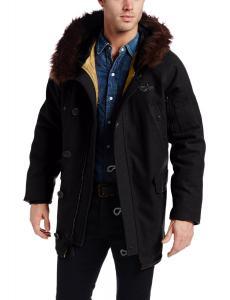 Alpha Industries Men's Treaty Wool Parka Coat