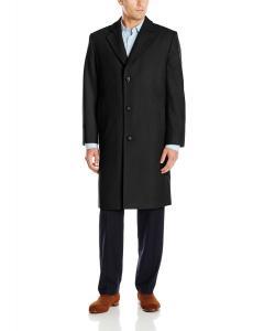 London Fog Men's Signature Wool-Blend Top Coat