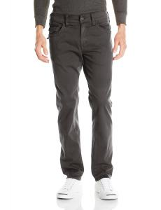 True Religion Men's Geno Flap Pocket Slim Straight Overdye Sateen Pant In Pavement