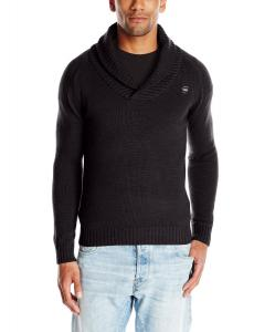 G-Star Raw Men's Sharsaw Shawl-Collar Sweater