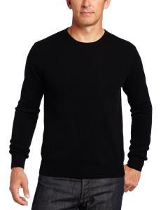 Williams Cashmere Men's 100% Cashmere  Long-Sleeve Crew-Neck Sweater