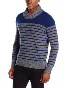 Levi's Men's Morton Striped Shawl-Collar Sweater
