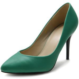 Ollio Women's Shoe D'Orsay High Heel Pointed Toe Simple Pump