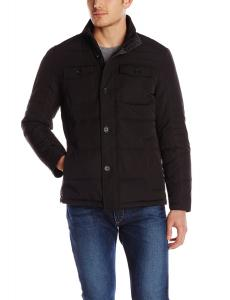 Perry Ellis Men's Quilted Four Pocket Jacket