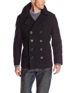 Alpha Industries Men's Usn Pea Coat