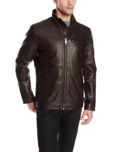 Marc New York by Andrew Marc Men's Slider Lightweight Cow Leather Jacket
