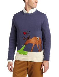 Alex Stevens Men's Reindeer Hangover, Stone/Uniform, Large