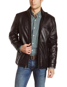Marc New York by Andrew Marc Men's Slade Smooth Lamb Leather Jacket