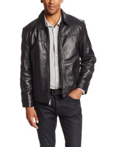 Marc New York by Andrew Marc Men's Shane Leather Bomber Jacket