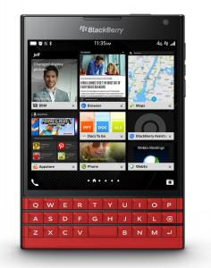 BlackBerry Passport đỏ - Factory Unlocked Smartphone Red